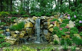 Aquascape Biofalls Upgrading Pool And Backyard New Landscaped Slope Replaces Old