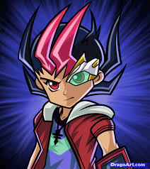 how to draw yuma yuma tsukumo from yu gi oh zexal step by step
