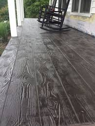 Pacific Decorative Concrete Stained Concrete Patio Made To Look Like Slate Wow If I Ever