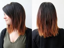 pictures of ombre hair on bob length haur dark to brown ombre hair for shoulder length hair hairstyles weekly