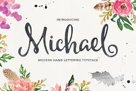 michael script befonts com