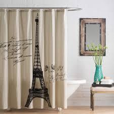 Brown And White Shower Curtains White And Brown Shower Curtain 83 Unique Decoration And