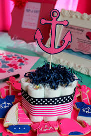 it u0027s a navy pink nautical baby shower u2013 ellery designs