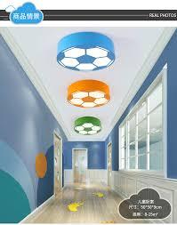 farbe fußball kinderzimmer led deckenleuchte cartoon schlafzimmer