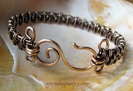 weave wire bracelet images Inspired wire woven bracelet in bronze jewelry making journal jpg