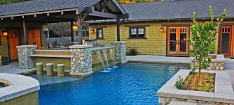 LA  Southern California Design Build Company Pacific Outdoor Living - Backyard designs with pool and outdoor kitchen