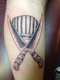 professional chef tattoo with chef tattoo design ideas great