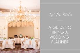 wedding planner guide a guide to hiring a wedding planner nj wedding planner