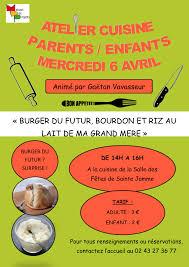 cours cuisine parent enfant amazing stage cuisine enfant suggestion iqdiplom com