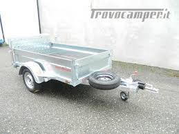 rimorchio porta auto usato carrello rimorchio per trasporto cose noleggio bergamo fast caravan