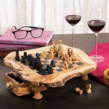 handmade u0027check in gray u0027 onyx and marble chess set mexico free