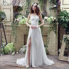 wedding dresses cheap get cheap sleeveless sheath wedding dress aliexpress