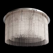deckenlampe mit fernbedienung kristall deckenleuchte modern helle gloriena kristall