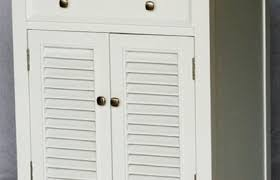 Louvered Cabinet Door Bathroom Cabinet Louvered Cabinets Door Vanity Ivory Pine Home