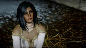 dragon age inqusition black hair wild hair for human female at dragon age inquisition nexus mods