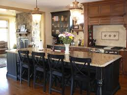 granite islands kitchen stylish granite top kitchen island with seating and antique rustic