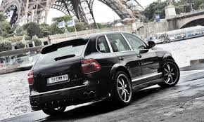 porsche truck 2009 french tuner porsche cayenne with a wide body kit