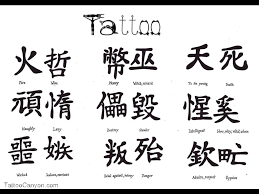 chinese symbols and dragon tattoo designs