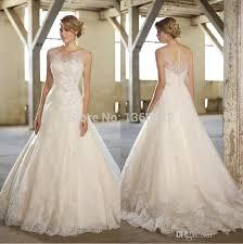 best wedding dresses of 2015 best selling 2014 illusion scoop neckline wedding dresses a