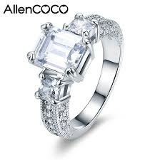 silver zirconia rings images Allencoco zirconia rings 93269_allencoco rings_rings_allencoco jpg