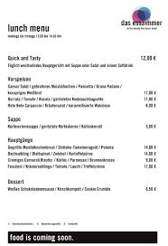 Esszimmer Hamburg Mittagstisch In Altona