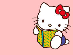 hello kitty reading free download clip art free clip art on