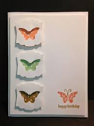papillon potpourri birthday card negative space technique