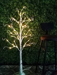 Lighted Tree Home Decor Trees