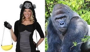 Gorilla Halloween Costume Crazy Halloween Costumes 2016