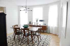 west elm mid century dining table the dining room design crush
