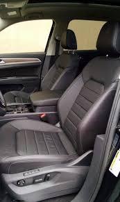 volkswagen atlas interior seating test drive 2018 volkswagen atlas sel awd testdriven tv