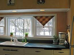 Kitchen Sink Size And Window by Sink U0026 Faucet Cool Bay Window Valance Idea Feat Black Marble