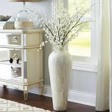 Large White Vases Large Floor Vases For Living Room