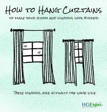 Installing Drapery Rods Curtain Rod Hanging Rules Integralbook Com
