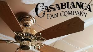 hunter fan company service department casablanca lady delta ceiling fan youtube