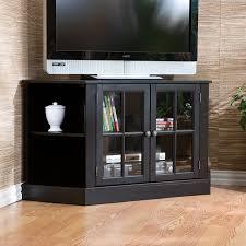 Tv Cabinet Doors Furniture Corner Tv Cabinet With Doors To Adorn The Nook Of Your