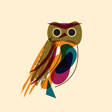 anneuku annemals owl gif illustrations pinterest owl cartoon
