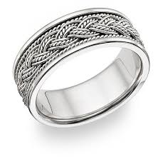 braided wedding band braided wedding band ring 14k white gold