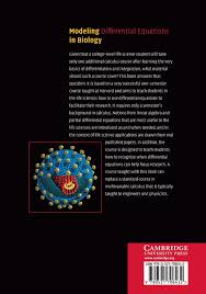 buy modeling differential equations in biology book online at low
