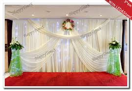 wedding backdrop stand wedding background decoration curtain backdrop drapes with white