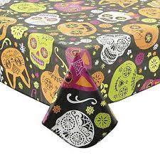 halloween round tablecloths ebay