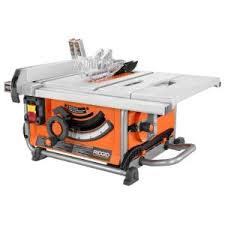 Black And Decker Firestorm Table Saw Ridgid 13 Amp 10 In Professional Cast Iron Table Saw R4512 The