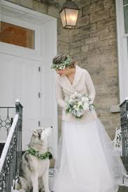 wolf of wall wedding dress winter and husky winter photography and winter weddings