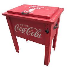 amazon com leigh country cp 98100 coca cola vintage cooler 54