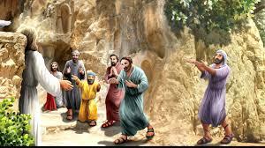 22 u0026 23 banyas waterfalls jesus life story for kids youtube