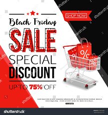 black friday sale stores black friday sale banner online shop stock vector 515591068