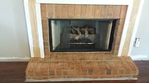 deck our home fireplace tutorial 1 hearth tile prep
