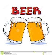 cartoon beer no background beer mugs illustration stock image image 21266401
