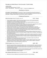 Accountant Resume Sample by Senior Payroll Accountant Resume 20 Accountant Resume Examples
