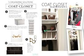 genius ways to organize your coat closet